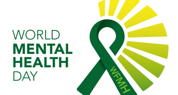 World mental health day 2019 logo